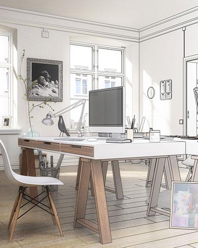 amnagement bureau feng shui dcoration et agencement feng shui belle id e d coration bureau la. Black Bedroom Furniture Sets. Home Design Ideas